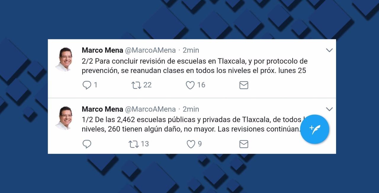 En Tlaxcala reanudarán clases hasta el 25 de septiembre - Quadratín ...