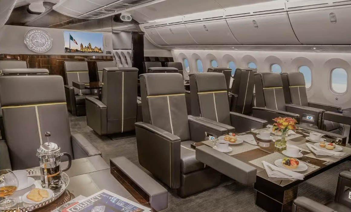 Resultado de imagen para avion presidencial mexicano