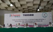 Toma protesta estructura estatal y municipal del ONMPRI Tlaxcala