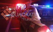 Vendedor de tacos resulta lesionado al ser atropellado en Totolac: el responsable huyó